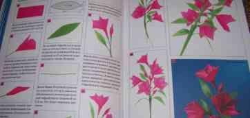 Квіти дзвіночки з гофрованого паперу своїми руками